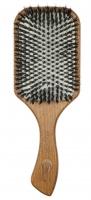 GORGOL - NATUR - Pneumatyczna szczotka do włosów z naturalnego włosia + ROZCZESYWACZ - PELIKAN - 15 38 142 C