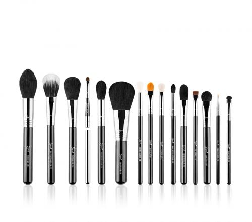 Sigma - Premium Kit - Set of brushes + case - BLACK