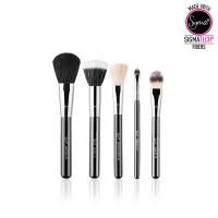 Sigma - BASIC FACE KIT - Set of 5 Makeup Brushes