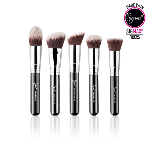 Sigma - Sigmax® KABUKI KIT - Set of 5 KABUKI brushes