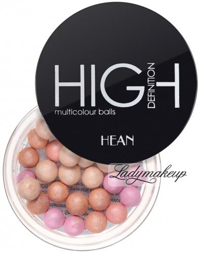 HEAN - HIGH DEFINITION multicolour powder balls - Puder w kulkach HD