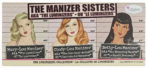 THE BALM - THE MANIZER SISTERS - Zestaw 3 kosmetyków do makijażu