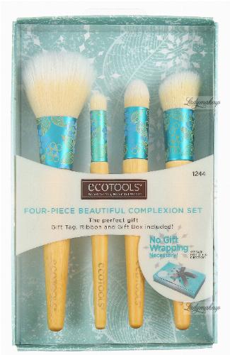 ECOTOOLS - FOUR - PIECE BEAUTIFUL COMPLEXION SET - Zestaw 4 pędzli do makijażu - 1244