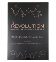 MAKEUP REVOLUTION - MAKEUP ADVENT CALENDAR - Zestaw 25 kosmetyków (kalendarz adwentowy)