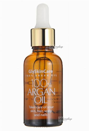GlySkinCare - 100% ARGAN OIL - Olej arganowy - 30 ml