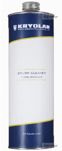 KRYOLAN - BRUSH CLEANER - Profesjonalny płyn do mycia i dezynfekcji pędzli - 1000 ml - ART. 3494