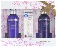 GlySkinCare - GLY MIST, HYDROTONE, GENTLE CLEANSER - Zestaw kosmetyków do pielęgnacji twarzy - (BIAŁY)