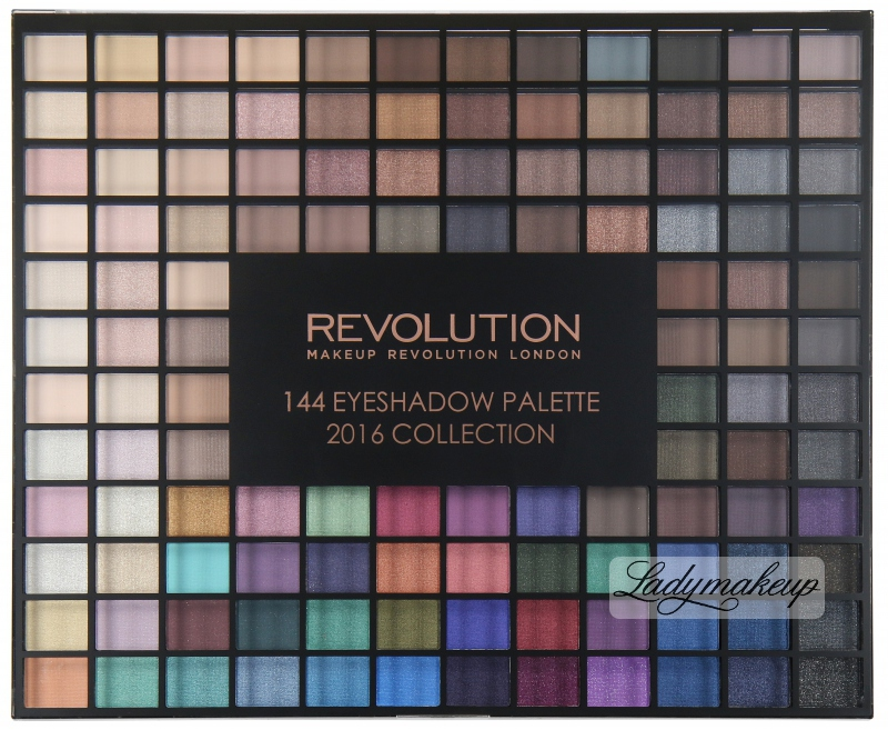 Makeup revolution 144 palette