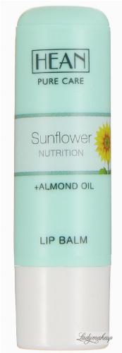 HEAN - LIP BALM - SUNFLOWER NUTRITION - Balsam do ust z olejem migdałowym i słonecznikowym