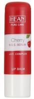 HEAN - LIP BALM - CHERRY S.O.S. SERUM - Balsam do ust z olejem makadamia i kompleksem witamin ECF