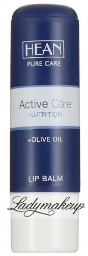 HEAN - LIP BALM - ACTIVE CARE NUTRITION - Balsam do ust z oliwą z oliwek oraz masłem shea