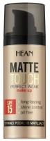HEAN - MATTE TOUCH PERFECT WEAR MAKE UP - Długotrwały podkład matujący
