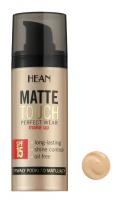 HEAN - MATTE TOUCH PERFECT WEAR MAKE UP - Długotrwały podkład matujący - 2 - NATURALNY - 2 - NATURALNY