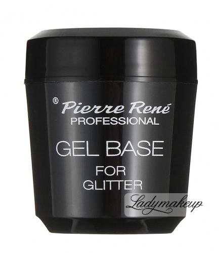 Pierre René - GEL BASE FOR GLITTER - Żelowa baza pod cienie sypkie