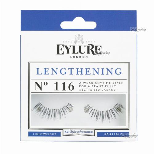 EYLURE - LENGTHENING - NR 116 - Rzęsy z klejem - efekt wydłużenia - 60 01 114
