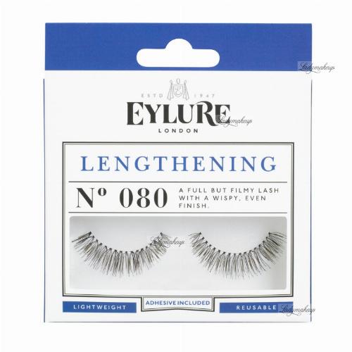 EYLURE - LENGTHENING - NR 080 - Rzęsy z klejem - efekt wydłużenia - 60 01 108