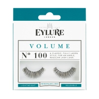 EYLURE - VOLUME - NR 100 - Eyelashes with glue - 60 01 110