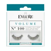 EYLURE - VOLUME - NR 100 - Rzęsy z klejem - efekt pogrubienia - 60 01 110