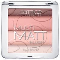 Catrice - MULTI MATT BLUSH - Wielobarwny róż do policzków (MATOWY)