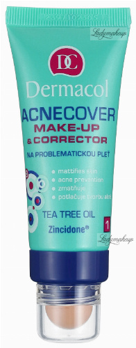 Dermacol - Acnecover Make-Up & Corrector - Podkład i korektor