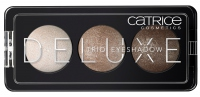 Catrice - DELUXE TRIO EYESHADOW - Zestaw 3 cieni do powiek - 010 ANTIQUE C'EST TRES CHIC