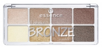 Essence - All about BRONZE eyeshadow - Paleta 8 cieni do powiek - 01 BRONZE - 754314