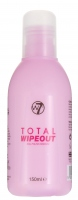 W7 - TOTAL WIPEOUT - NAIL POLISH REMOVER - Zmywacz do paznokci - 150 ml