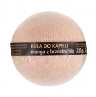 Skin Love - BATH SPA - Musująca kula do kąpieli mango z brzoskwinią