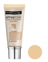 MAYBELLINE - AFFINITONE TONE - ON - TONE - Foundation - perfect match without mask effect - 03 - LIGHT SAND BEIGE