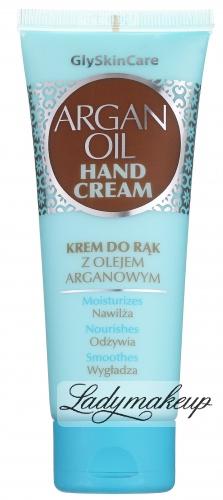 GlySkinCare - ARGAN OIL HAND CREAM - Krem do rąk z olejem arganowym - 75 ml