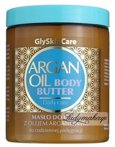 GlySkinCare - ARGAN OIL BODY BUTTER - Masło do ciała z olejem arganowym