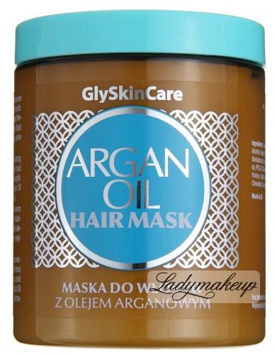 GlySkinCare - ARGAN OIL HAIR MASK - Maska do włosów z olejem arganowym