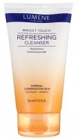 LUMENE - Radiant Touch Refreshing Foam Cleanser - Rozświetlająca emulsja do mycia twarzy - Krok 1 - REF: 81301
