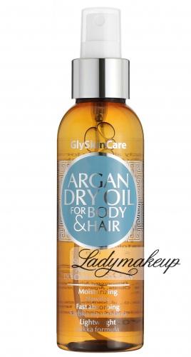 GlySkinCare - ARGAN DRY OIL FOR BODY & HAIR - Suchy olejek arganowy do ciała i włosów