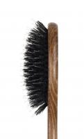 GORGOL - NATUR - Pneumatyczna szczotka do włosów z naturalnego włosia + ROZCZESYWACZ - PELIKAN - 15 31 142 - 8R