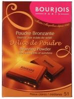 Bourjois - Bronzing Powder - Delice de Poudre - Puder brązujący