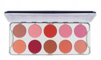 KRYOLAN - BLUSHER - Palette of 10 blushes - ART. 5194 - ROUGE 2/ MIX - ROUGE 2/ MIX