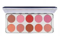 KRYOLAN - BLUSHER - Palette of 10 blushes - ART. 5194 - ROUGE 2/ MATT NEW - ROUGE 2/ MATT NEW