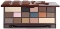 I ♡ Makeup - 16 Eyeshadow I HEART CHOCOLATE SALTED CARAMEL - Paleta 16 cieni do powiek (KARMELOWA CZEKOLADA)