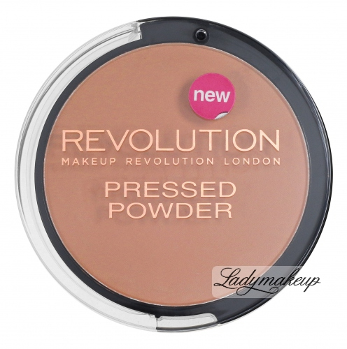 MAKEUP REVOLUTION - PRESSED POWDER - Puder prasowany