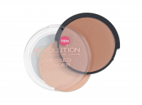 MAKEUP REVOLUTION - PRESSED POWDER - Puder prasowany - BRONZER KISS - BRONZER KISS