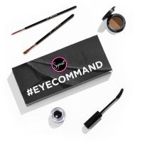 Sigma - #EYECOMMAND - Zestaw 2 pędzli, tusz do rzęs, puder do brwi, eyeliner w żelu - HMS07