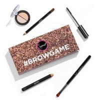 Sigma - #BROWGAME - Zestaw kosmetyków do makijażu + pędzel - HMS06