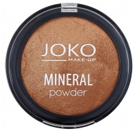 JOKO - MINERAL POWDER - Mineralny puder ROZŚWIETLAJĄCY - SPIEKANY