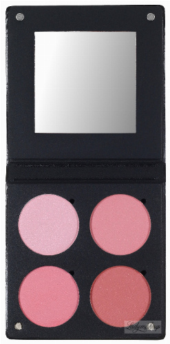 Make-Up Atelier Paris - PALETTE 4 BLUSH 3D - Paleta 4 róży