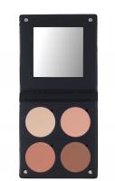 Make-Up Atelier Paris - PALETTE 4 BLUSH 3D - Paleta 4 róży - NUDE - NUDE