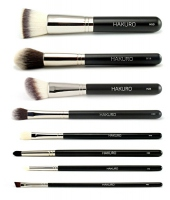 Hakuro - Set of 8 make-up brushes - advanced