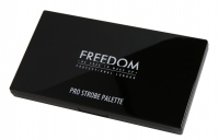 FREEDOM - PRO STROBE - PRO POWDER STROBE AND CONTOUR PALETTE WITH BRUSH - Zestaw do konturowania twarzy + pędzel