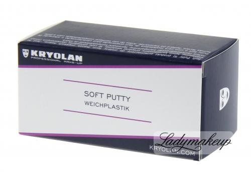 KRYOLAN - Soft Putty - Plastyczny wosk do charakteryzacji - 50 g - ART. 1431