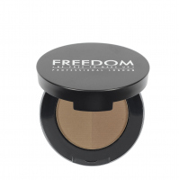 FREEDOM - DUO BROW POWDER - Podwójny cień do brwi - TAUPE - TAUPE